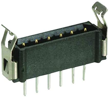M80-8410842 Pack of 20 Through Hole Datamate L-Tek M80 Series Plug Board-To-Board Connector 2 mm 8 Contacts 2 Rows,