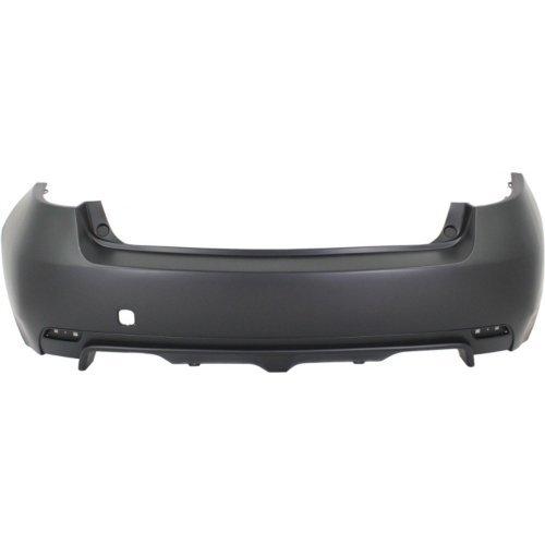 Rear Bumper Cover Compatible with SUBARU IMPREZA 2008-2014 Primed WRX Model Wagon