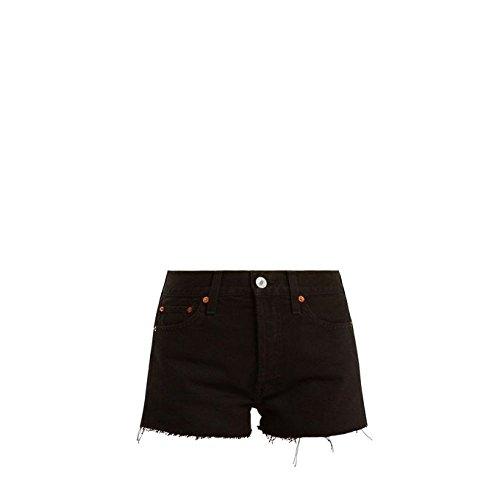 取得する美容師砲兵(リダン) Re/Done Originals レディース ボトムス?パンツ ショートパンツ The Short mid-rise denim shorts [並行輸入品]