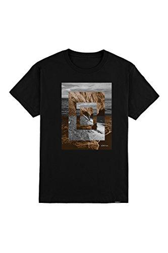 O'Neill Men's Modern Fit Photoreal T-Shirt, Sun Babe Black, (Skate Fit T-shirt)