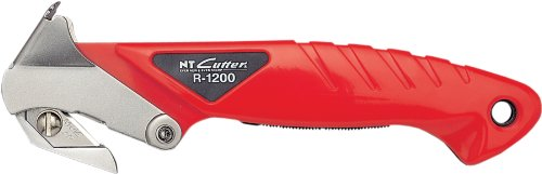 - NT Cutter Safety Carton Opener with Staple Remover, 1 Opener (R-1200P)