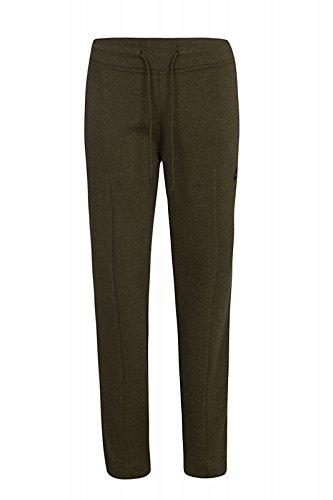 Nike W Nsw Tch Flc Pant Knt - Pantalón para mujer Verde (Dark Loden / Htr / Dark Loden / Negro)