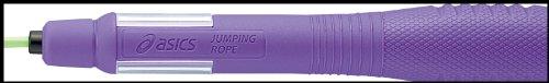 아식스 (asics) 줄넘기 INF공인 줄넘기 줄 91-240 【쥬니어용】 퍼플 / 핑크 / 블루 / 라임그린  사이즈 : 손잡이 길이 16cm, 로프 3.5mm (직경) 길이 2.7m