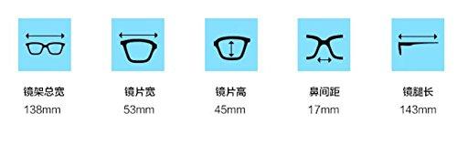 plano móvil marea gafas Pingguang prueba a radiación Purple macho Gradient brillante Light teléfono KOMNY de hembra espejo ordenador azul negro de Matt juego Gafas qvZctnp