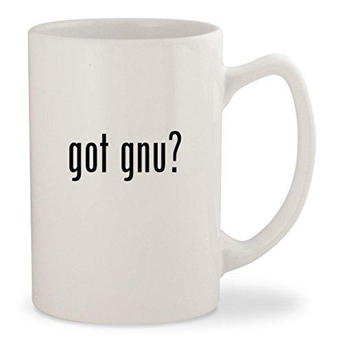 Gnu B Nice Btx Snowboard (got gnu? - White 14oz Ceramic Statesman Coffee Mug Cup)