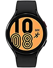 Samsung Electronics Galaxy Watch 4 44mm Smartwatch with ECG Monitor Tracker for Health Fitness Running Sleep Cycles GPS Fall Detection Bluetooth US Version, Black