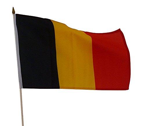 Drapeau Belgique Belgique en lot de 5 Drapeau Belge 30/x 45/cm Belgium Drapeau /Étage Drapeau