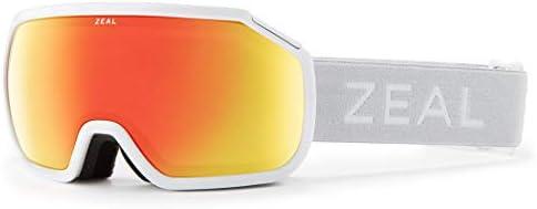 Zeal Optics Fargo – Full Frame Ski Snowboard Goggles for Men Women