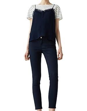 Mango Women's Skinny Paty Jeans!