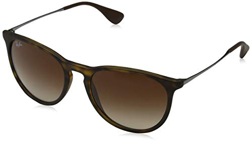 Ray-Ban Women's 0rb4101860/5158jackie Ohh Rectangular Sunglasses, Brown Gradient Lilac, 53 mm