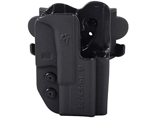 Comp-Tac International OWB Holster,Glock 34/35 Gen 4,Black,Right Side Carry 739189100859