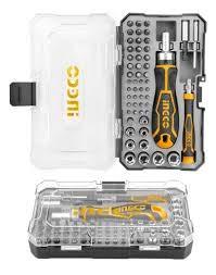 Ingco 55 Pcs Screwdriver Bit Set (HKSDB0558) 2