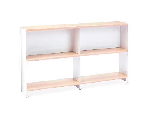 Modern by Dwell Magazine Bookshelf Wide White/Natural