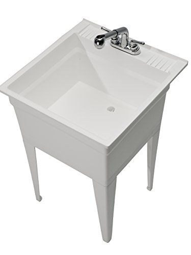 Heavy Duty Utility Sink : Cashel Heavy Duty Sink - Fully Loaded Sink Kit - White Hardware ...