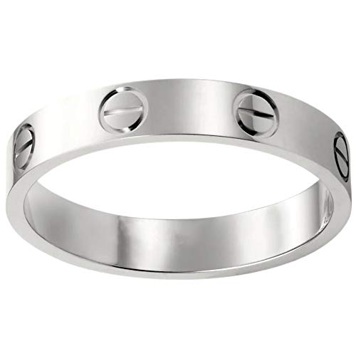 Knock Knock Knock Statement Ring Couple Silver Classic for Women