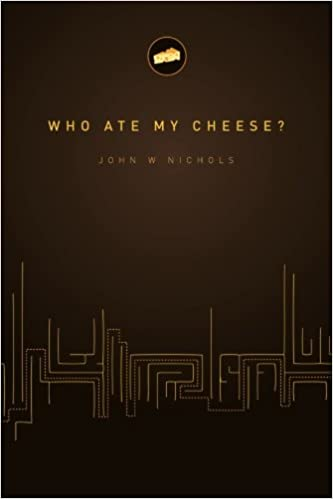 who ate my cheese book