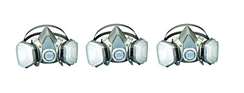 3M 07193 Dual KRXlD Cartridge Respirator Assembly,Organic Vapor/P95, Large (3 ()