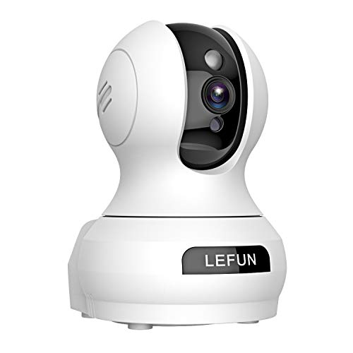 Lefun Indoor Wireless Security IP Camera with Sound Detection 3MP 2304x1536p Motion Tracking Two Way Audio Night Vision for Home Surveillance Baby Pet Monitoring