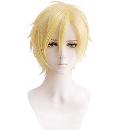 magic acgn Costume Cosplay Wig Short For Men Cosplay Wig
