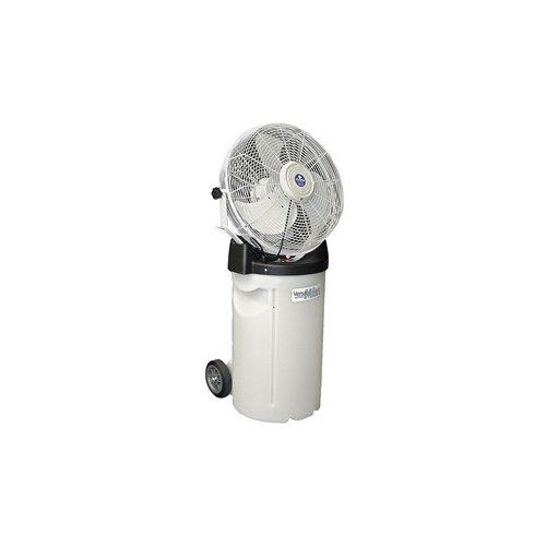 Portable Misting Fans With Tank : Schaefer pvm c portable misting fan with tank and white