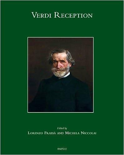Download Verdi Reception (Studies on Italian Music History) PDF, azw (Kindle)