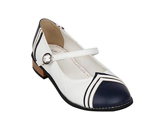 Playing Shoes Mori Heel Shoes Low Party Role Girl Women'S Shoes Shoes Lolita PINGXIANNV Women'S qOwXdpO
