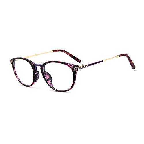 D.King Vintage Optical Round Eyewear Prescription Eyeglasses Frame with Clear Lenses - Round Eyeglass Tortoise Large Shell Frames