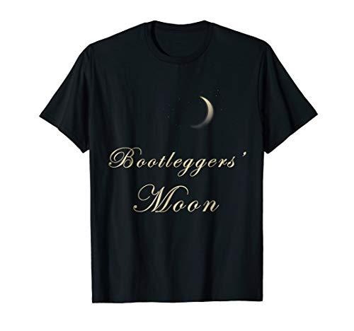 (Bootleggers Moon Art Nouveau style Roaring 20s)