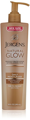 Price comparison product image Jergens Natural Glow Daily Moisturizer, Fair to Medium Skin Tones, 10 Ounce Pump
