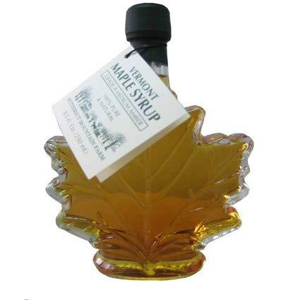 - Butternut Mountain Medium Amber Leaf 8.5 Oz Bottle Vermont Maple Syrup
