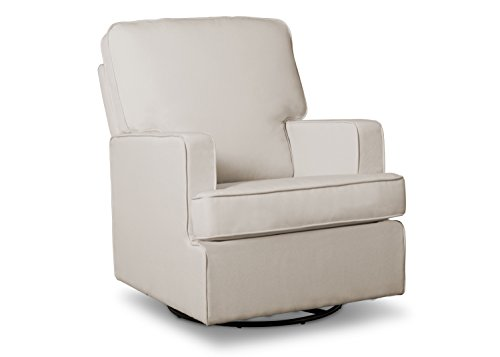 Delta Children Henry Nursery Glider Swivel Rocker Chair, Cream by Delta Children