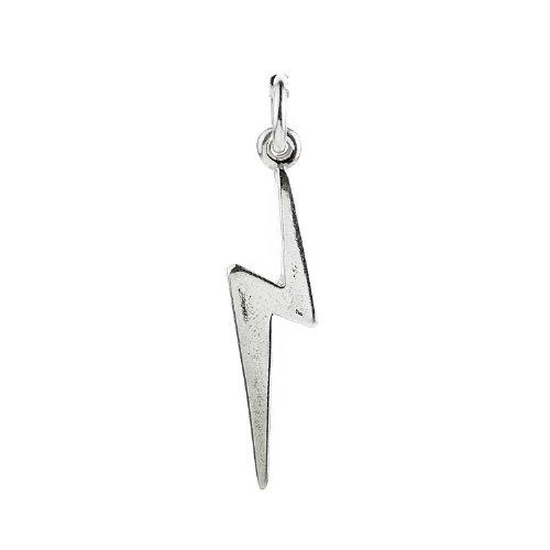 Sterling Silver Lightning Bolt Charm – Harry Potter