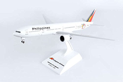 Skymarks SKR930 Philippines Airlines Boeing 777-300ER 1:200 Scale REG#RP-C7772 Display Model with Stand (Airlines Philippine)