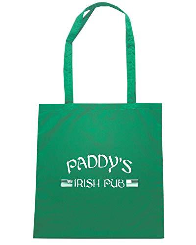 Speed Shirt Borsa Shopper Verde TIR0030 PADDY S IRISH PUB