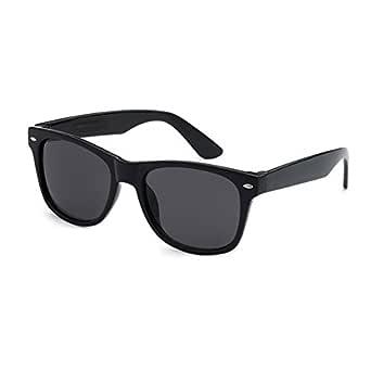 Kids Sunglasses UV400 Plastic Wayfarer Style Frame Classic Retro Shades for Boys and Girls