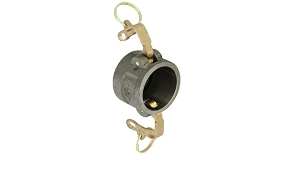 VL-Coupler PT Coupling Basic Standard Series Ductile Iron Cam and Groove Hose Fitting 3 with Locking Cam Arms HB Cam Arms Brass