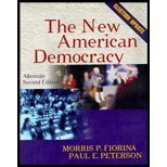 The New American Democracy : Alternate Election Update, with LP.com Access Card, Fiorina, Morris P. and Peterson, Paul E., 0321101332
