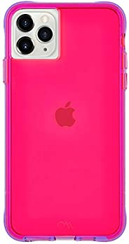 Case-Mate - iPhone 11 Pro Case - Tough NEON - 5.8 - Pink/Purple Neon