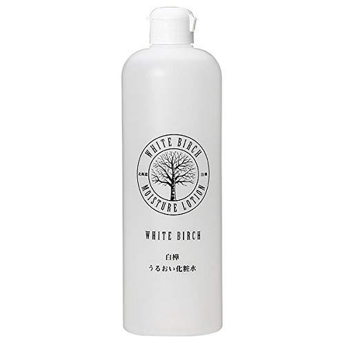 ドック扱う救い北海道アンソロポロジー 白樺うるおい化粧水 500mL