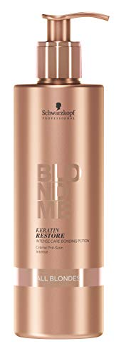 BLONDME Keratin Restore Intense Care Bonding Potion for All Blondes, 5.07-Ounce