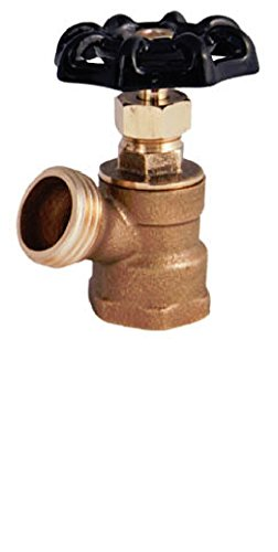 LEGEND VALVE AND FITTING T-522NL 1/2 T-522 No Lead Brass Boiler Drain Valve (Brass Boiler Drain Valve)