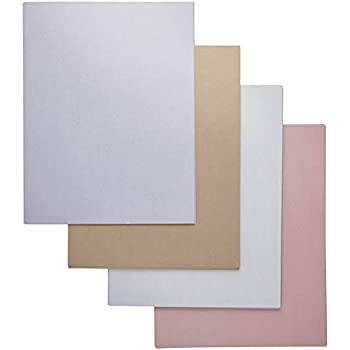 Best Paper Greetings 96-Pack Assorted Colored Paper, 6 Colors, 8.5 x 11 Inches