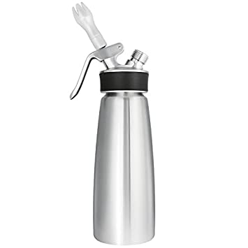 iSi Stainless Steel Professional Profi Whip Cream Dispenser 1-Pint / 0.5-Litre 2416