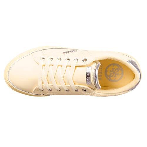 Guess Sneaker Guess Flsgrvele12 Sneaker Flsgrvele12 Yellow Guess Yellow 6ISwWqv