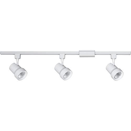 (Progress Lighting P900007-028-27 Energy Star Three-Light LED Track Kit White)