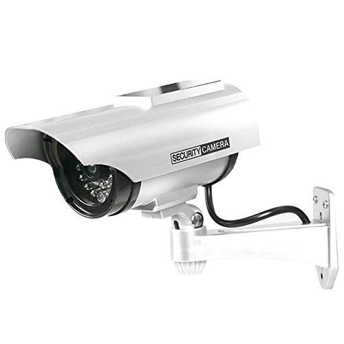 vanpower Simulation Dummy Fake Camera Solar Waterproof Outdoor Security CCTV SurveillanceFalse Camera Bullet Webcam