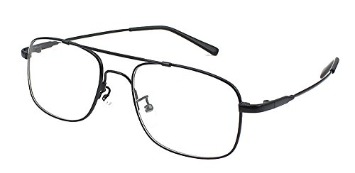 Agstum Pilot Full-flex Optical Memory Titanium Eyeglass Frame - Rim Full Frames Eyeglasses Metal