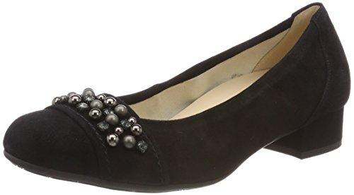 Gabor Dames Het Comfort Basic Pompen Zwart (black (obl))
