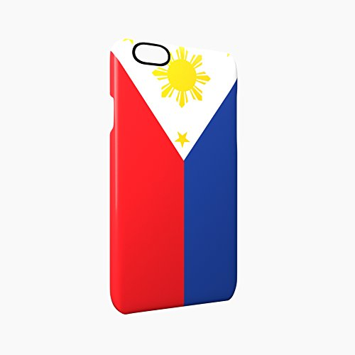 Flag of Philippines Glossy Hard Snap-On Protective iPhone 6 / 6S Case Cover
