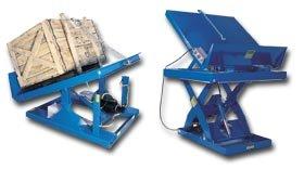 Vestil Mfg. Co., Lift And Tilt Table, Hehltt-4848-2-47, Platform W X L: 48 X 48